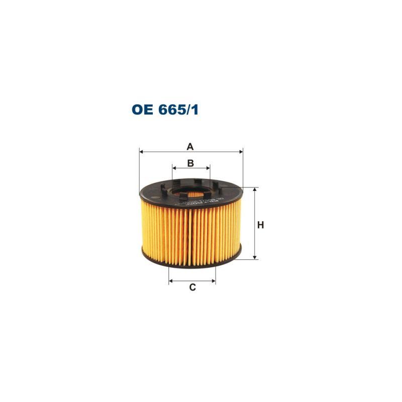 Olejový filtr Filtron OE 665
