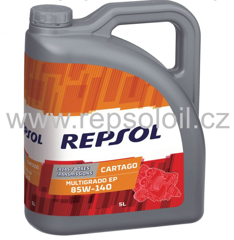 REPSOL CARTAGO MULTIGRADO 85W140 5l
