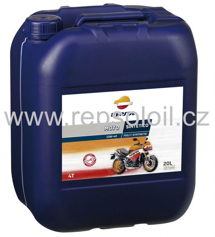 REPSOL MOTO SINTETICO 4T 10W40 20l