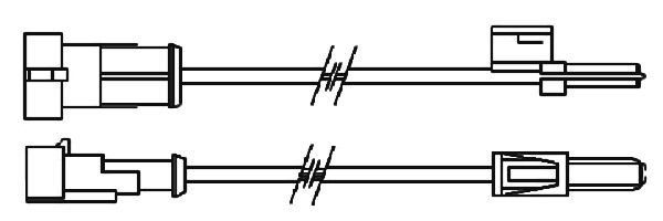 Indikátor opotřebení FERODO FAI113 Iveco