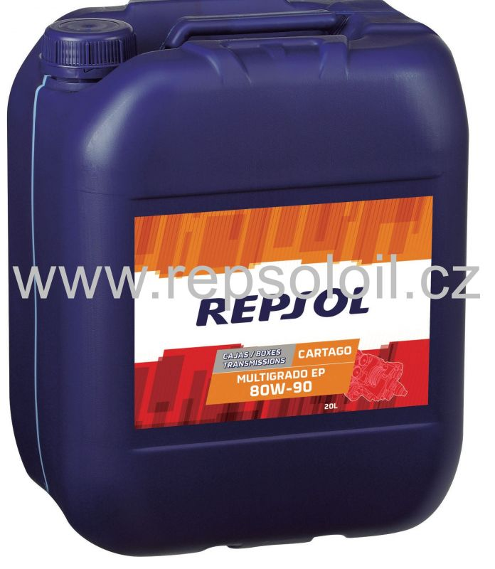 REPSOL CARTAGO MULTIGRADO EP 80W90 20l