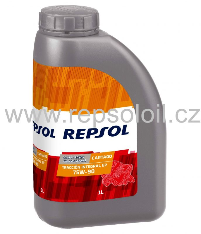 Repsol Cartago Traccion Integral EP 75W90 Manual Transmission Fluid