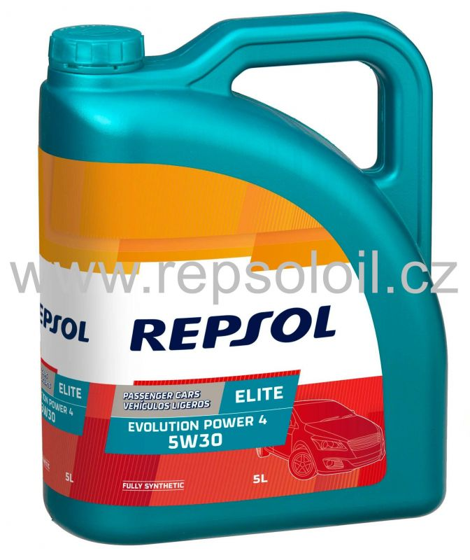 REPSOL Elite Evolution Power 4 5W30 5l