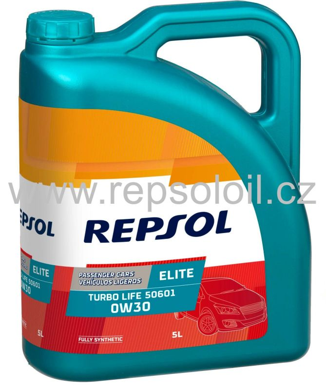 Repsol Elite Turbo Life 0W-30 5l