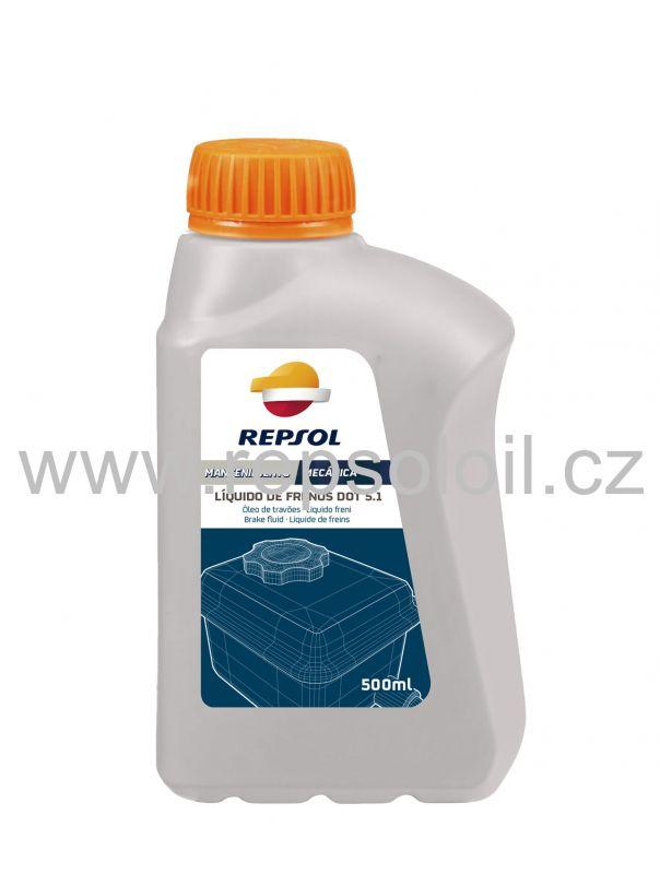 REPSOL LIQUIDO FRENOS DOT.5.1 0,5l