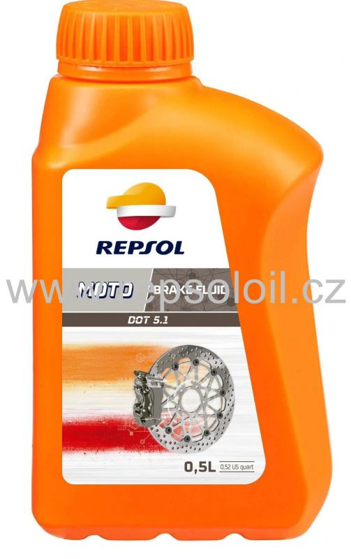 REPSOL MOTO DOT 5 BRAKE FLUID 0,5l