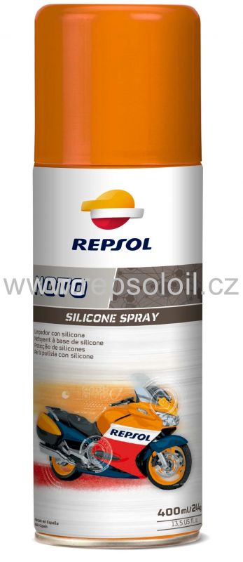 REPSOL MOTO SILICONE SPRAY - 400ml