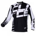 ZONE TRIAL JERSEY - WHITE/BLACK CLICE