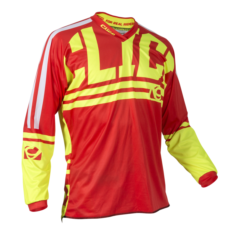 CLAW MX-ENDURO JERSEY - RED CLICE