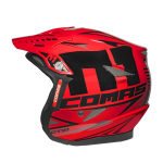 COMAS CT01 Race Moto Helmet RED