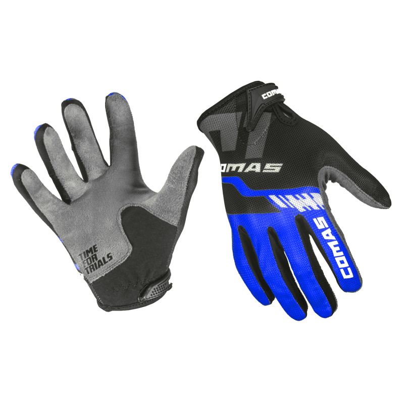 COMAS Race Gloves Blue