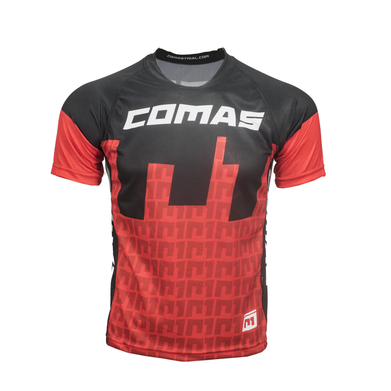 COMAS Short Sleeve Red