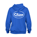 HOODED SWEATSHIRT - BLUE/AZUL CLICE