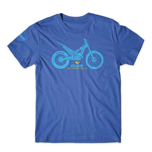 T-SHIRT CLICE PURE TRIAL - BLUE