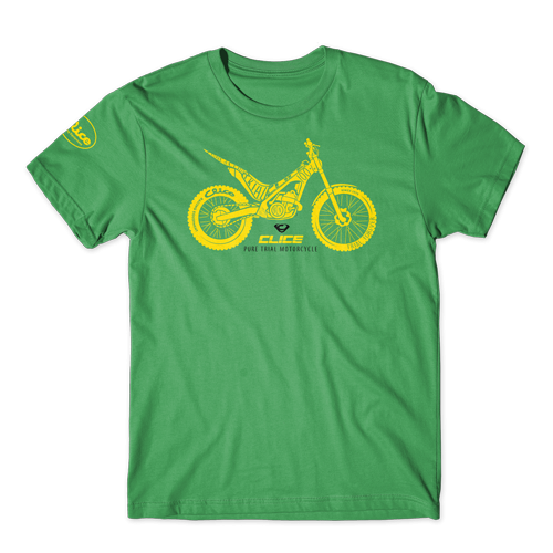 T-SHIRT CLICE PURE TRIAL - GREEN
