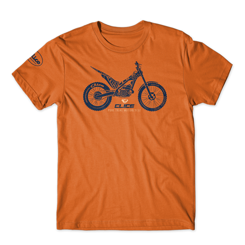 T-SHIRT CLICE PURE TRIAL - ORANGE