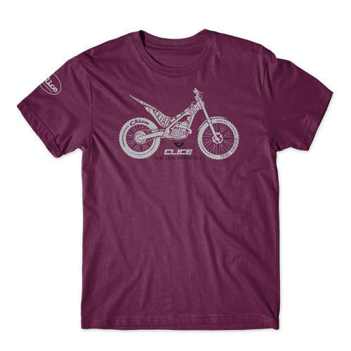 T-SHIRT CLICE PURE TRIAL - PURPLE