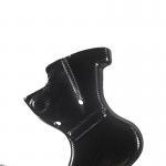 BETA Plastic Frame Protector - black COMAS